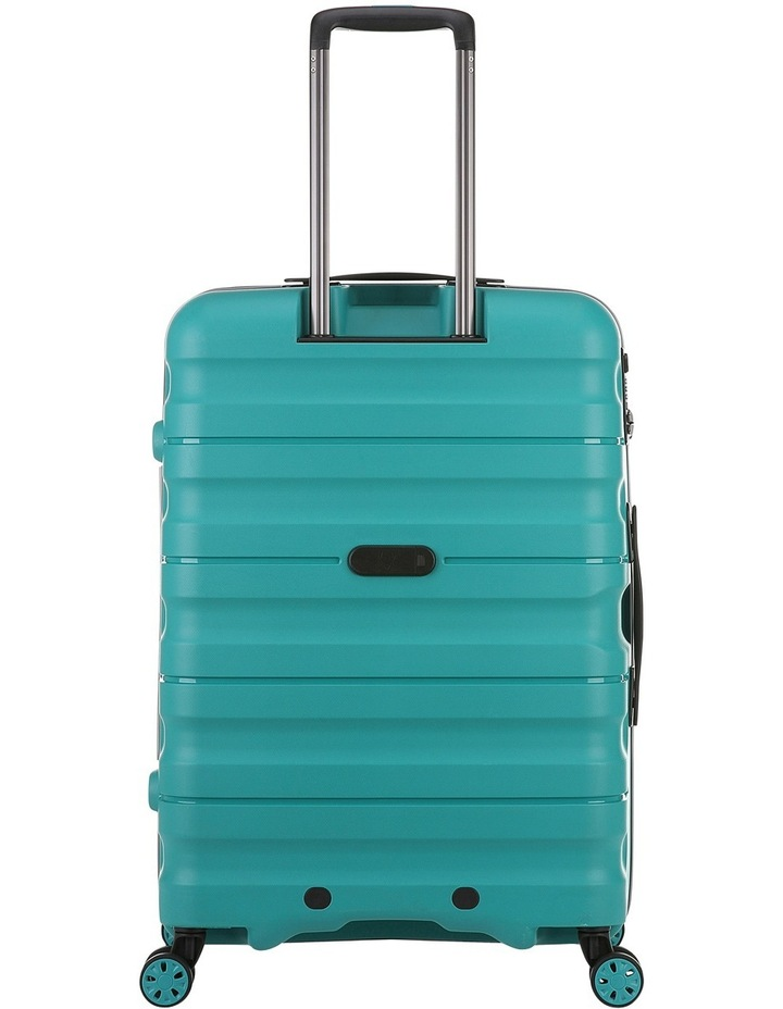 Juno 2 expandable hardside spinnercase medium 3.5kg 68cm - Teal image 2