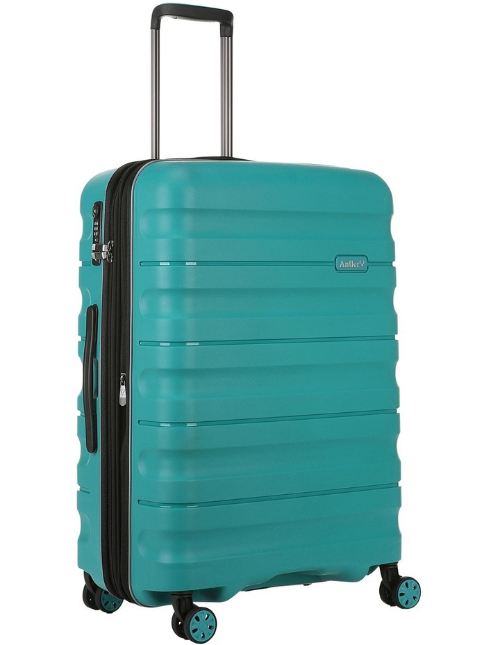 Juno 2 expandable hardside spinnercase medium 3.5kg 68cm - Teal image 3