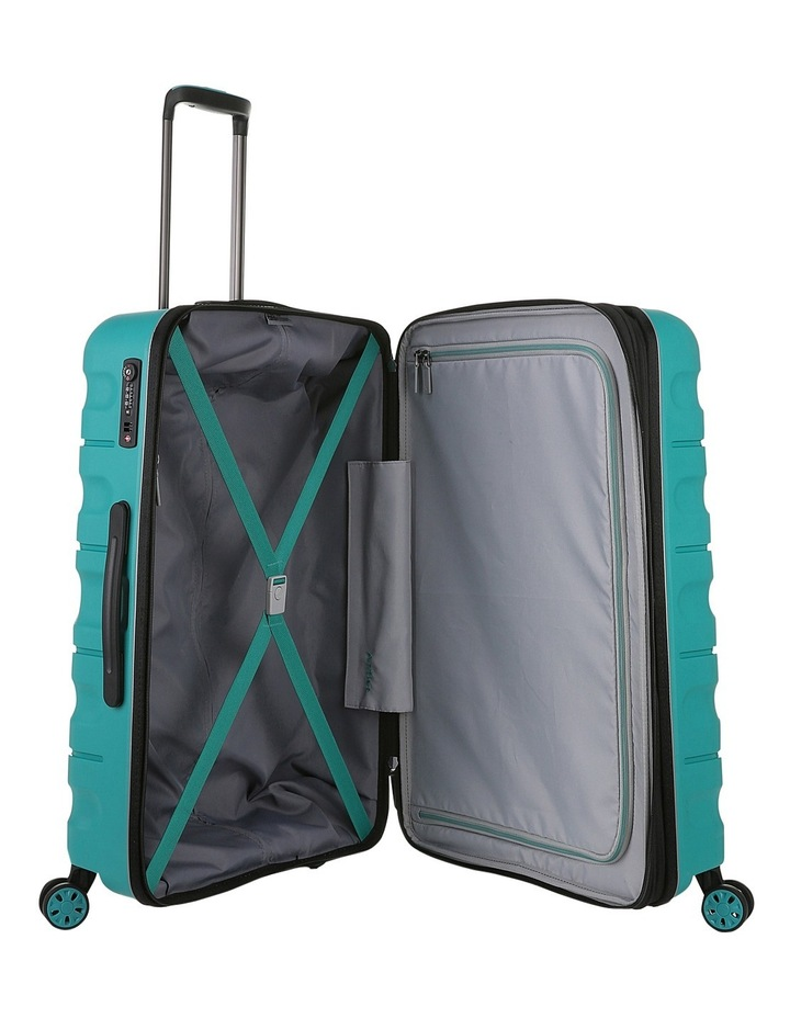 Juno 2 expandable hardside spinnercase medium 3.5kg 68cm - Teal image 4
