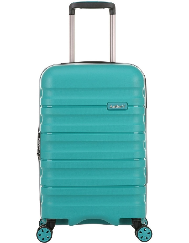 Juno 2 expandable hardside spinnercase small 2.5kg 56cm - Teal image 1