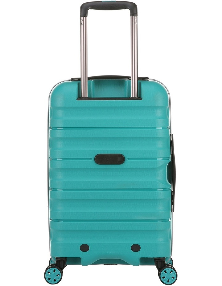 Juno 2 expandable hardside spinnercase small 2.5kg 56cm - Teal image 2