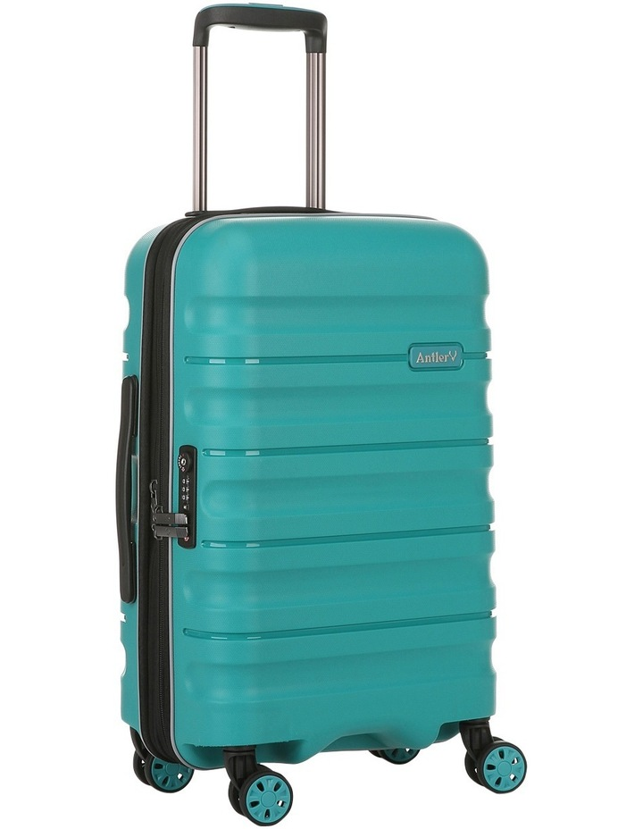 Juno 2 expandable hardside spinnercase small 2.5kg 56cm - Teal image 3
