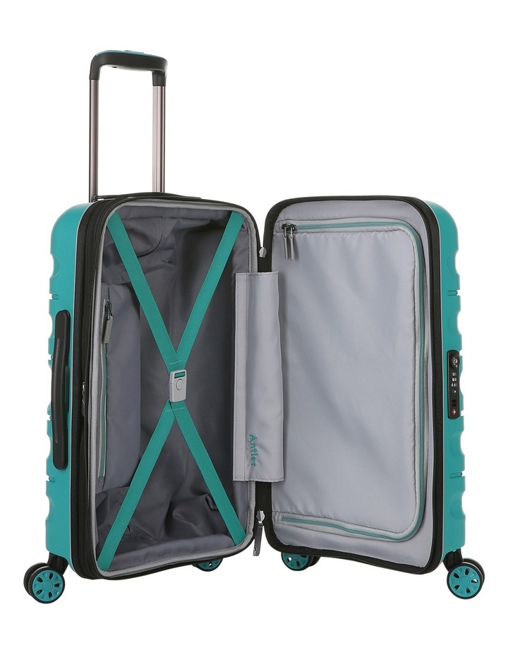 Juno 2 expandable hardside spinnercase small 2.5kg 56cm - Teal image 4