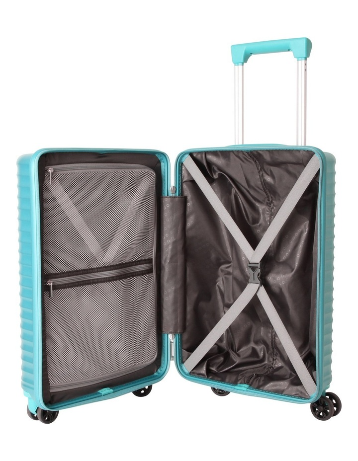 High Rock Small 55cm Hardside Spinner - Lagoon Blue image 2