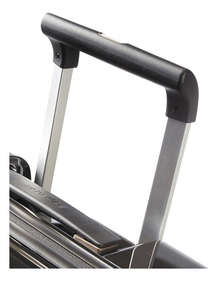 Aspero Small 55cm Hard Spin Suitcase - Metallic Black image 3