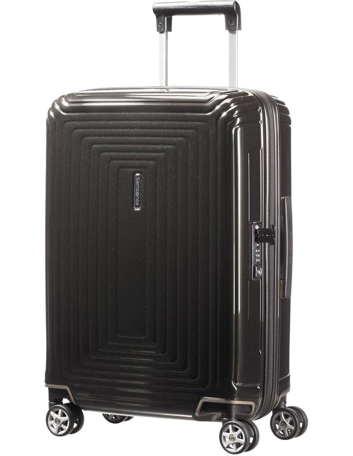 Aspero Large 75cm Hard Spin Suitcase - Metallic Black image 2