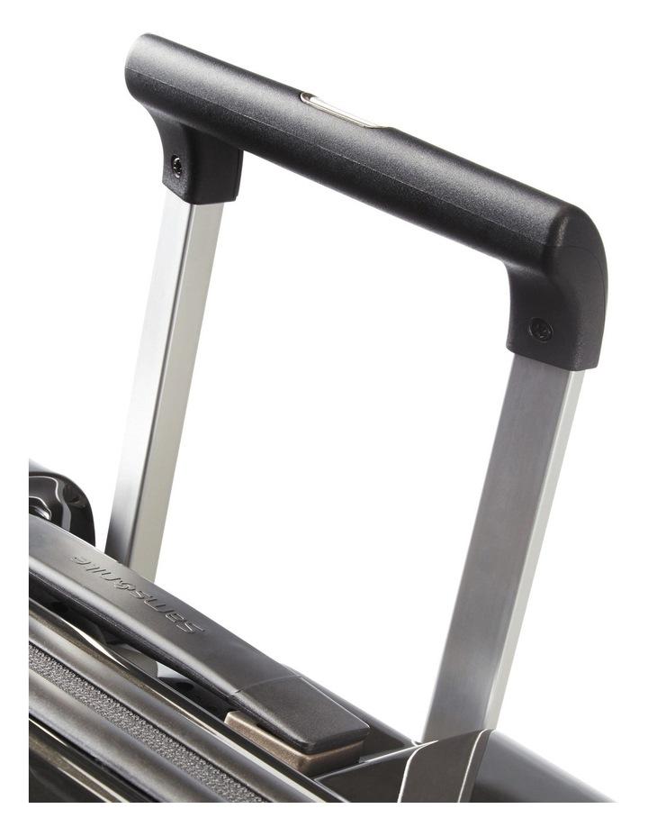 Aspero Large 75cm Hard Spin Suitcase - Metallic Black image 3