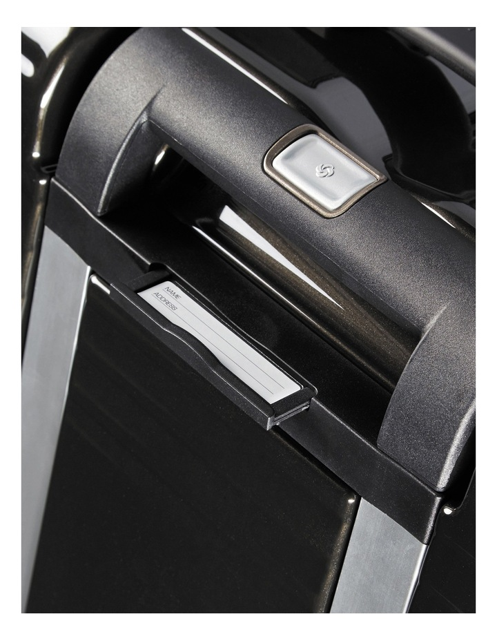 Aspero Large 75cm Hard Spin Suitcase - Metallic Black image 4