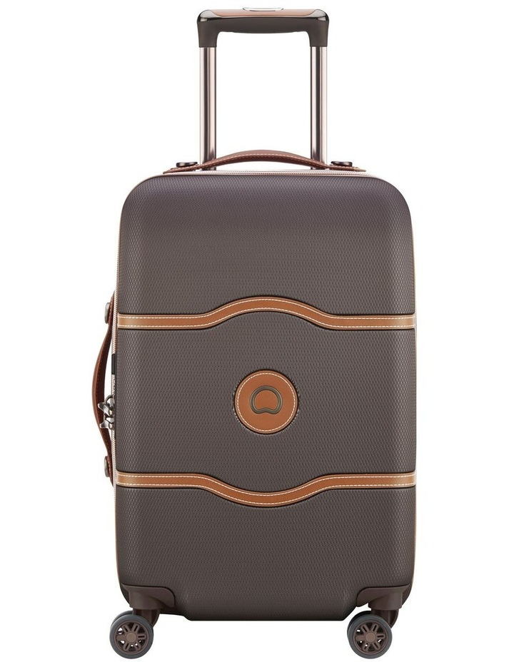 Chatelet Air 55cm 4 Wheels Cabin Case- Chocolate image 1