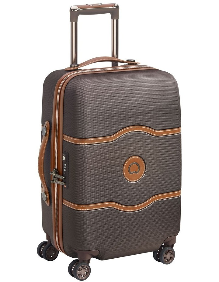 Chatelet Air 55cm 4 Wheels Cabin Case- Chocolate image 2
