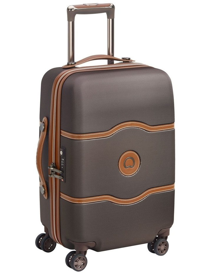 Delsey Chatelet Air 67cm 4 wheels case- Chocolate image 2