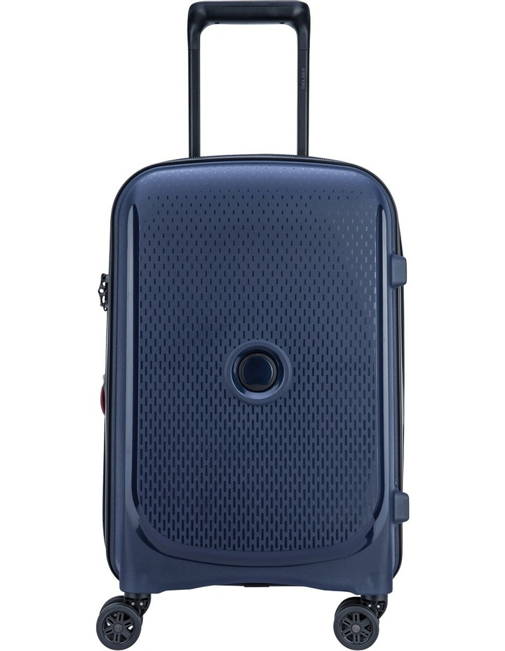 Belmont Plus 55cm 4 wheels Cabin Case- Blue image 1