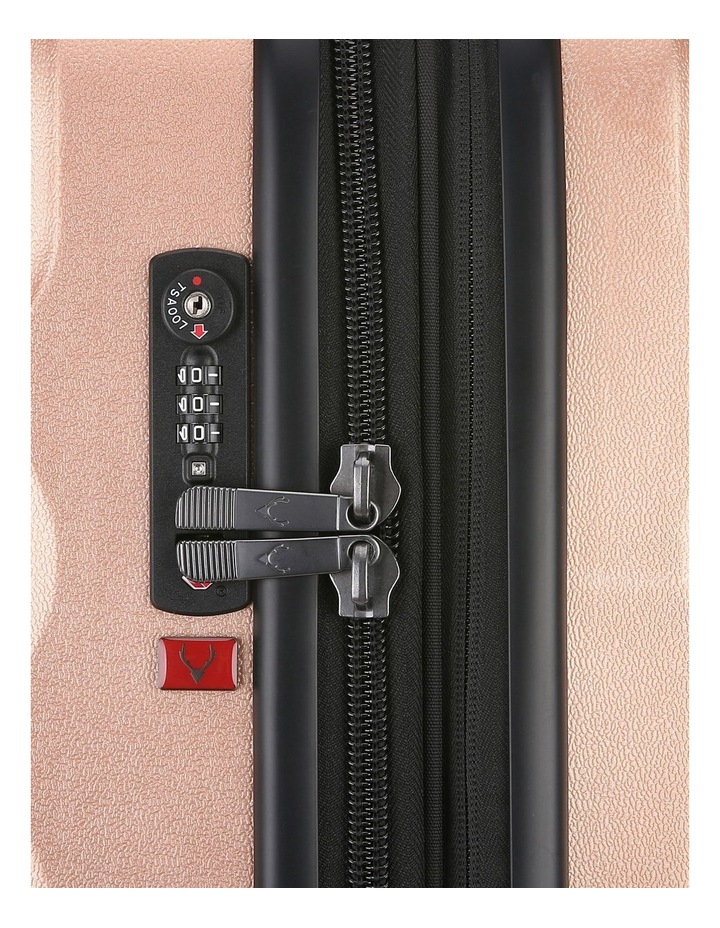 Juno Metallic DLX expandable hardside spinnercase Lge 4.4kg79cm -Rose Gold image 5