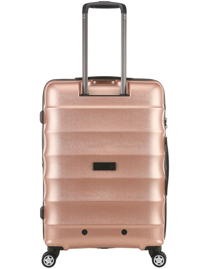 Juno Metallic DLX expandable hardside spinnercase medium 3.7kg 68cm - Rose Gold image 3