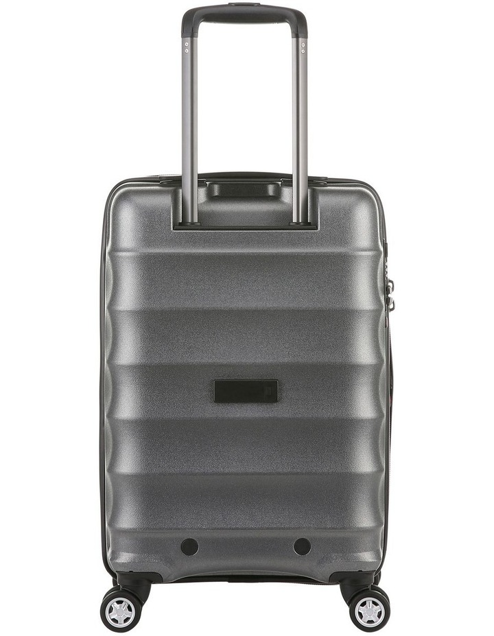 Juno Metallic DLX expandable hardside spinnercase small 2.9kg 56cm -Charcoal image 3