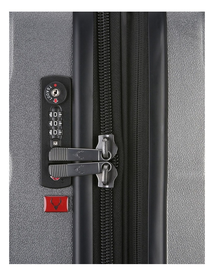 Juno Metallic DLX expandable hardside spinnercase small 2.9kg 56cm -Charcoal image 5