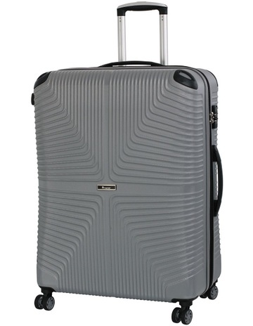 IT LuggageIntersection hardside 79cm Suitcase Grey. IT Luggage Intersection  hardside 79cm Suitcase Grey 33d9f1d5305b2