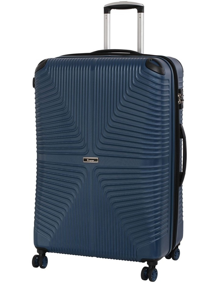 Intersection hardside 79cm Suitcase Blue image 1