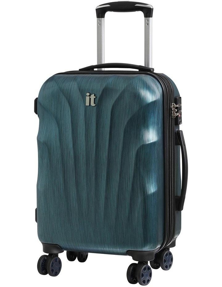 Momentum hardside 56cm Suitcase Blue image 1