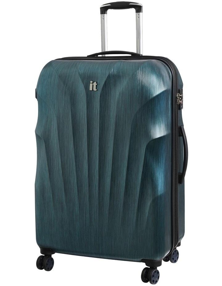 Momentum hardside 80cm Suitcase Blue image 1