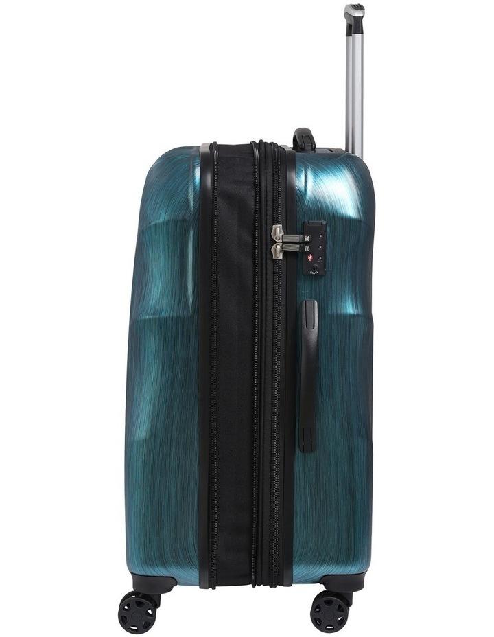 Momentum hardside 80cm Suitcase Blue image 2