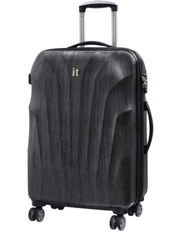 ab44d4972af8 IT LuggageMomentum hardside 70cm Suitcase Charcoal. IT Luggage Momentum  hardside 70cm Suitcase Charcoal