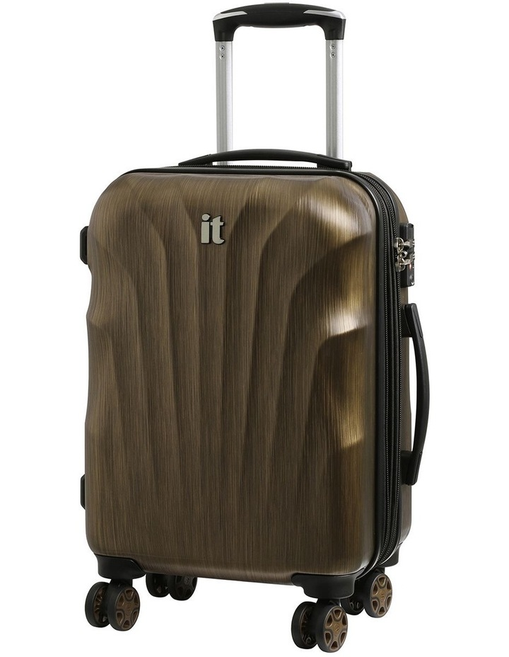 Momentum hardside 56cm Suitcase Gold image 1