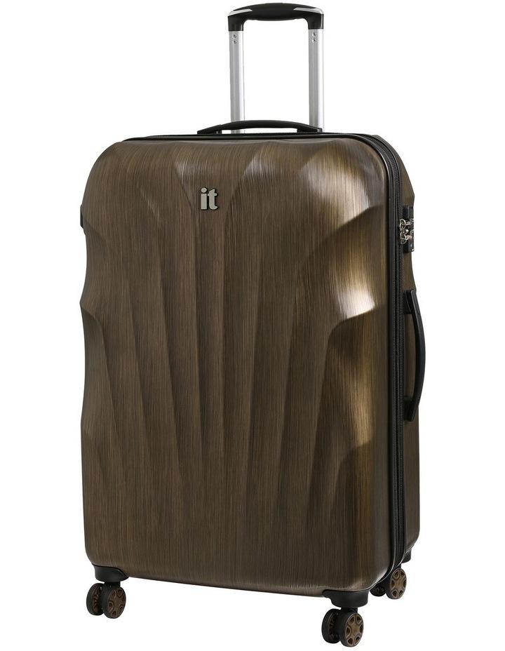 Momentum hardside 80cm Suitcase Gold image 1