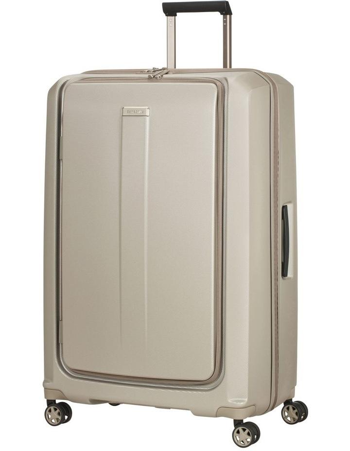 Prodigy Large 81cm Hard Spinner Suitcase - Ivory Black image 1