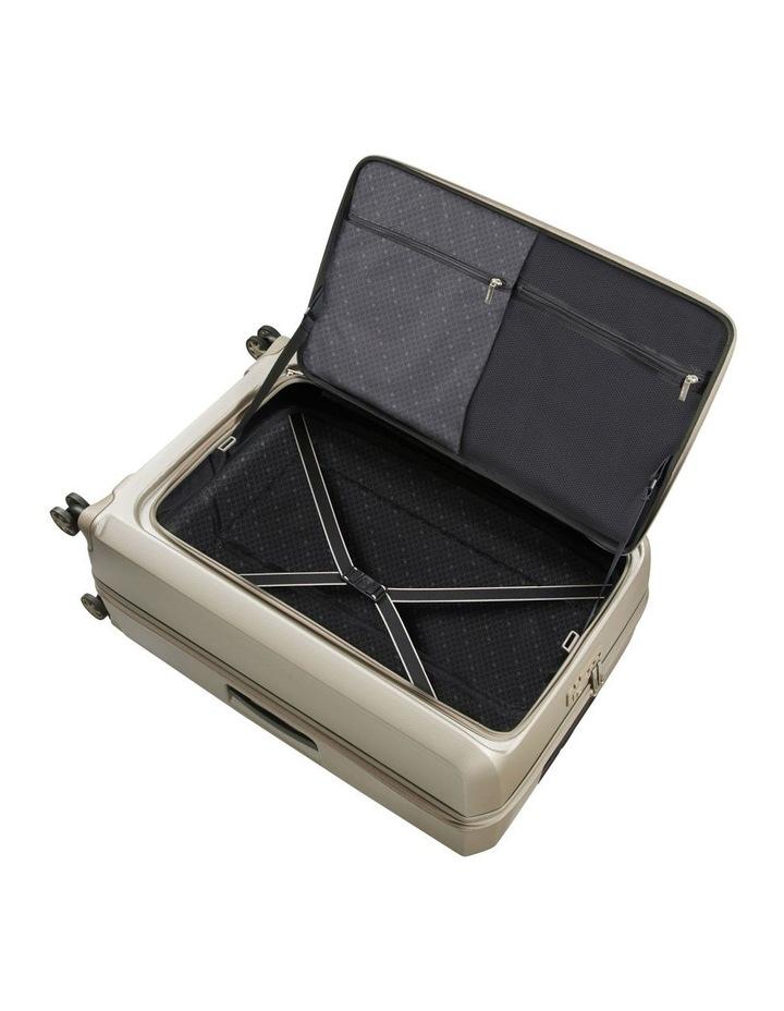 Prodigy Large 81cm Hard Spinner Suitcase - Ivory Black image 2