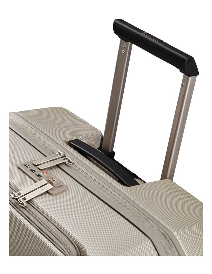 Prodigy Large 81cm Hard Spinner Suitcase - Ivory Black image 3