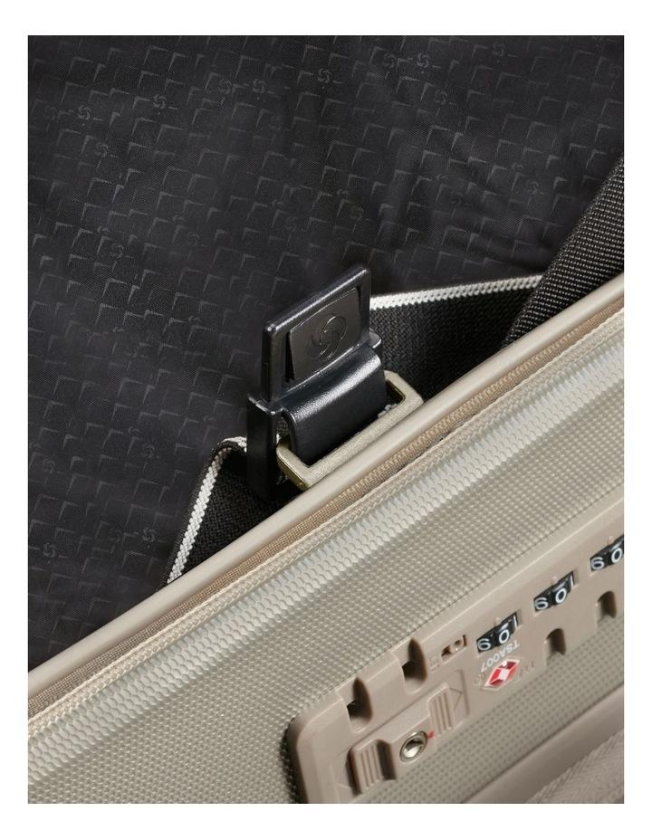 Prodigy Large 81cm Hard Spinner Suitcase - Ivory Black image 4