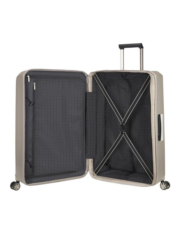 Prodigy Large 81cm Hard Spinner Suitcase - Ivory Black image 5