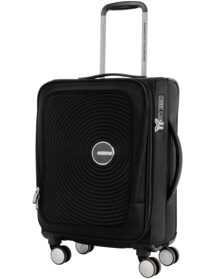 Curio SS Softside Spinner Case  55cm Black image 1