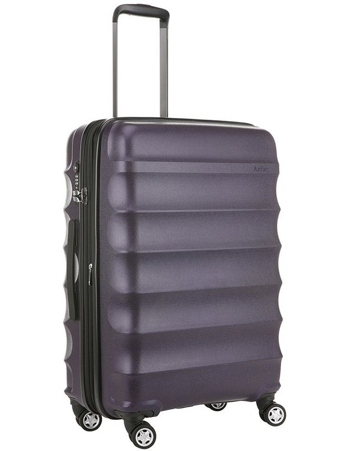 Juno Metallic Dlx Expandable Hardside Spinnercase Medium 3.7Kg 68cm - Aubergine image 2
