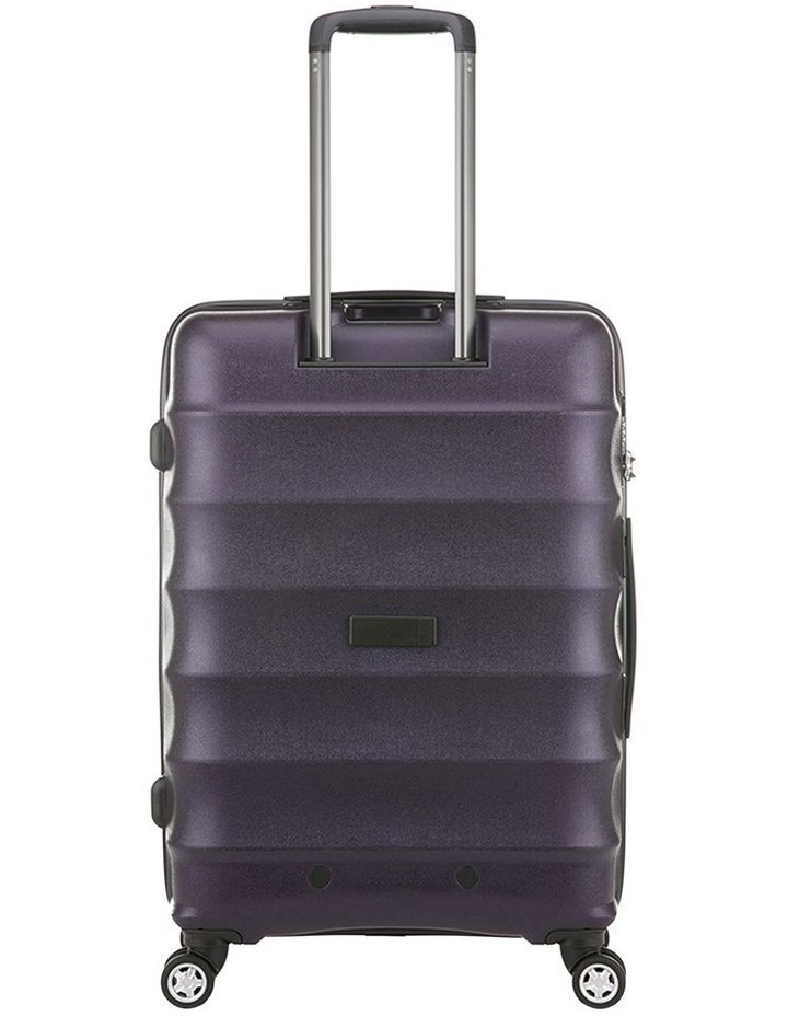 Juno Metallic Dlx Expandable Hardside Spinnercase Medium 3.7Kg 68cm - Aubergine image 3