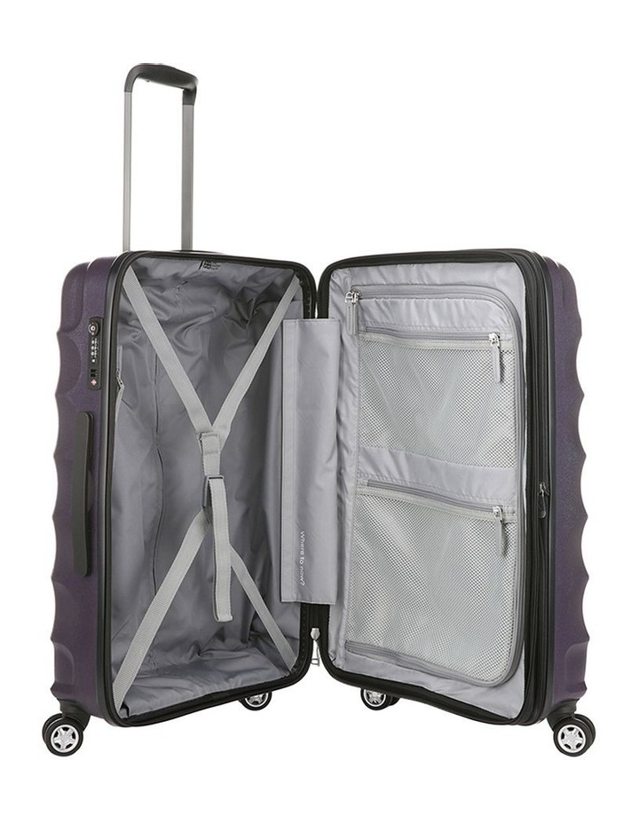 Juno Metallic Dlx Expandable Hardside Spinnercase Medium 3.7Kg 68cm - Aubergine image 4
