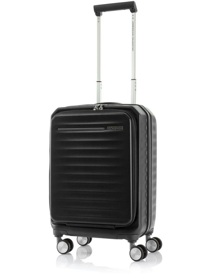 Frontec Small 55cm Hardside Suitcase - Black image 1