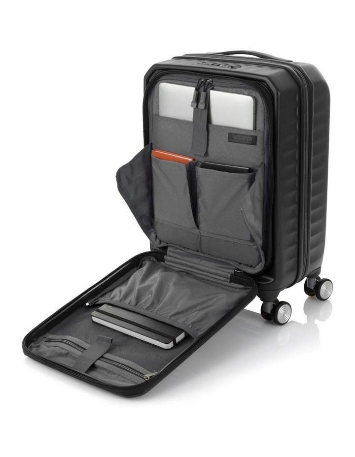 Frontec Small 55cm Hardside Suitcase - Black image 3