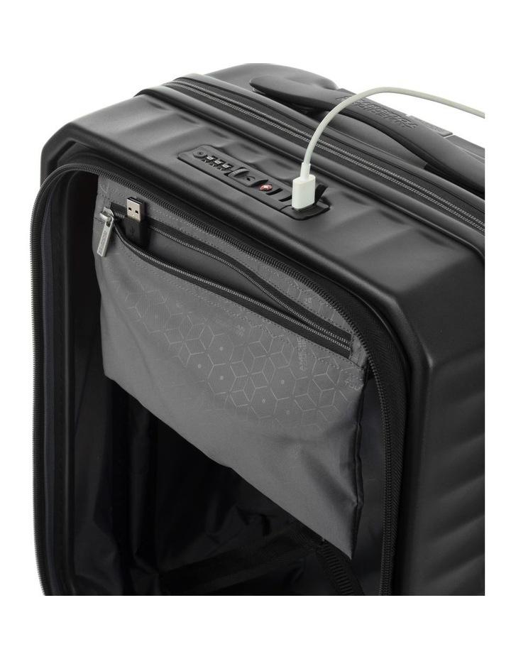 Frontec Small 55cm Hardside Suitcase - Black image 5