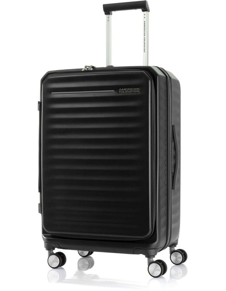 Frontec Med 69cm Hardside Suitcase - Black image 1