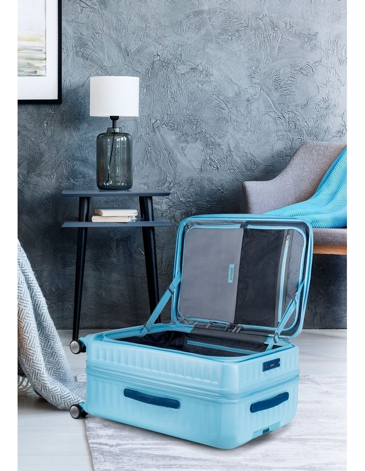 Frontec Large 79cm Hardside Suitcase - Aquamarine image 7