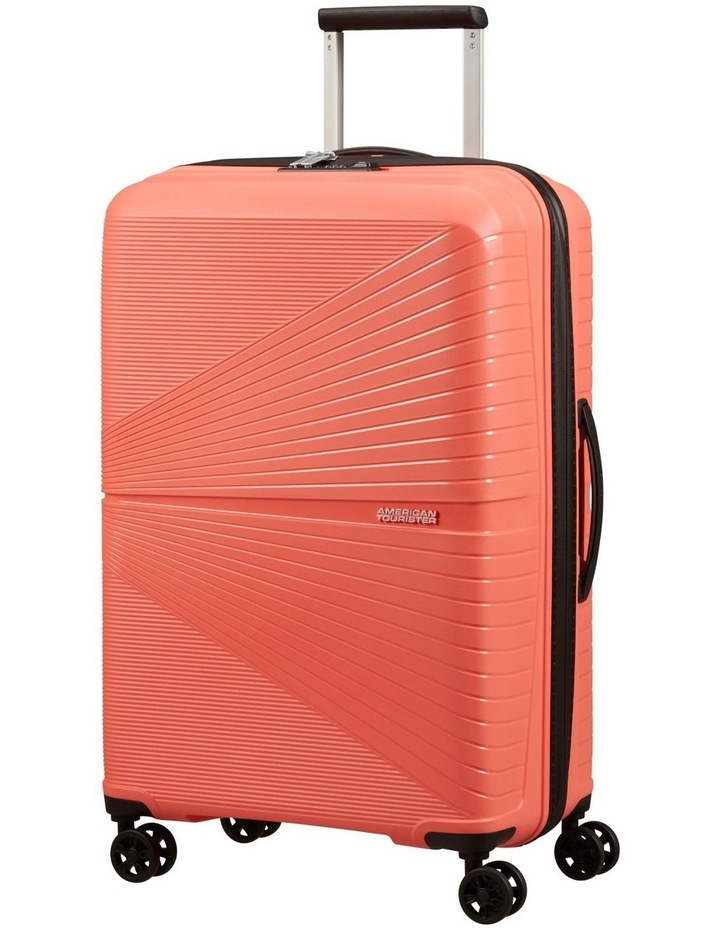 Airconic 67cm Med Hard Spin Case - Coral image 1