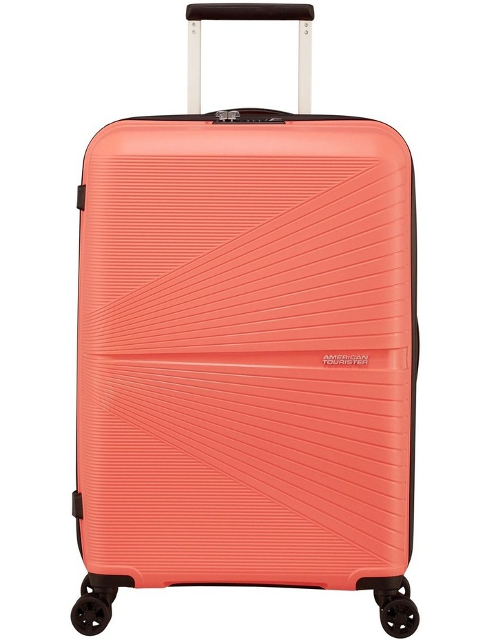 Airconic 67cm Med Hard Spin Case - Coral image 2