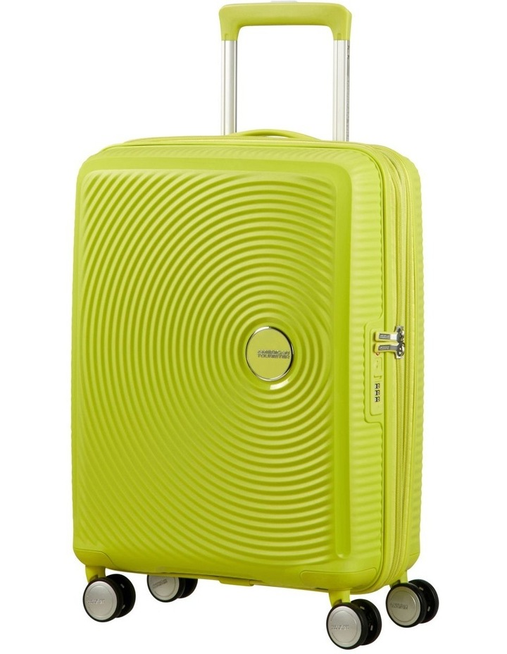 Curio 55cm Small Hard Spin Case - Lime Punch 2.7kg image 1