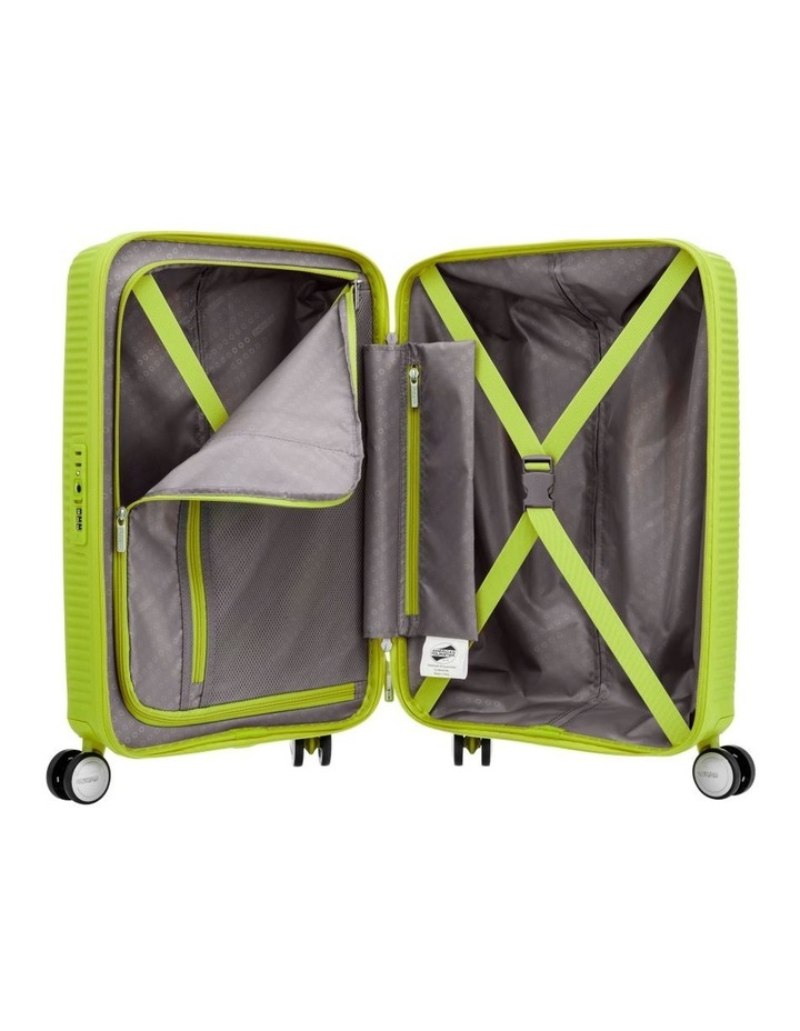 Curio 55cm Small Hard Spin Case - Lime Punch 2.7kg image 2