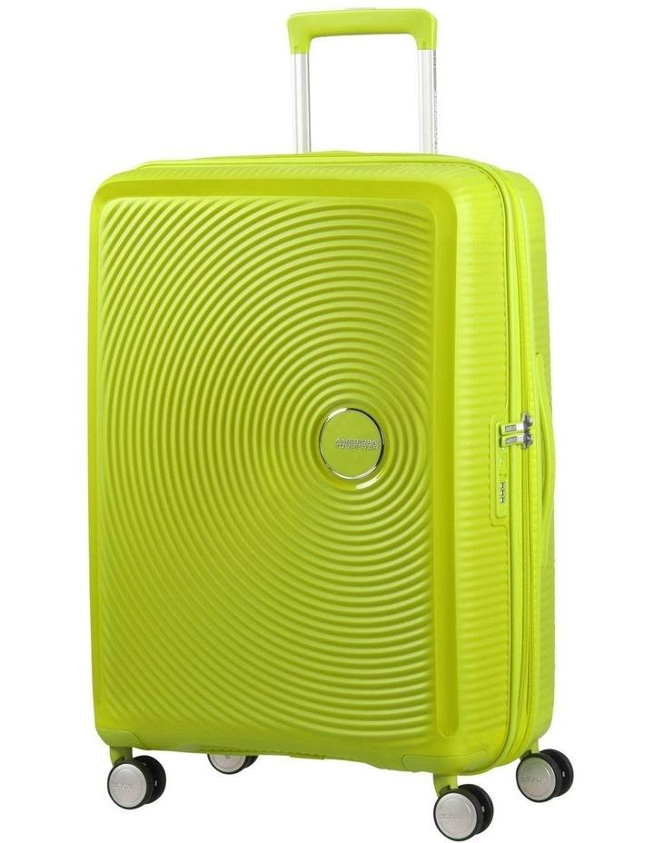 Curio 69cm Med Hard Spin Case - Lime Punch 3.7kg image 1