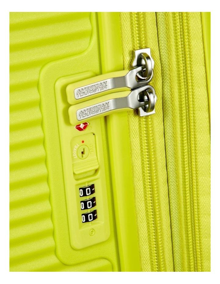 Curio 69cm Med Hard Spin Case - Lime Punch 3.7kg image 4