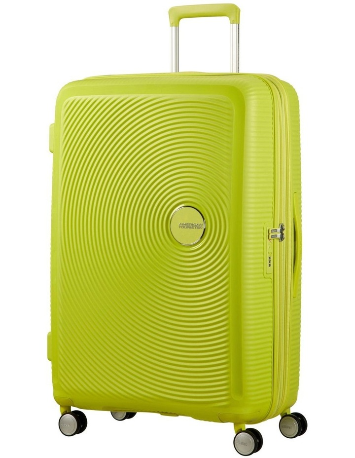 Curio 80cm Large Hard Spin Case - Lime Punch 4.6kg image 1