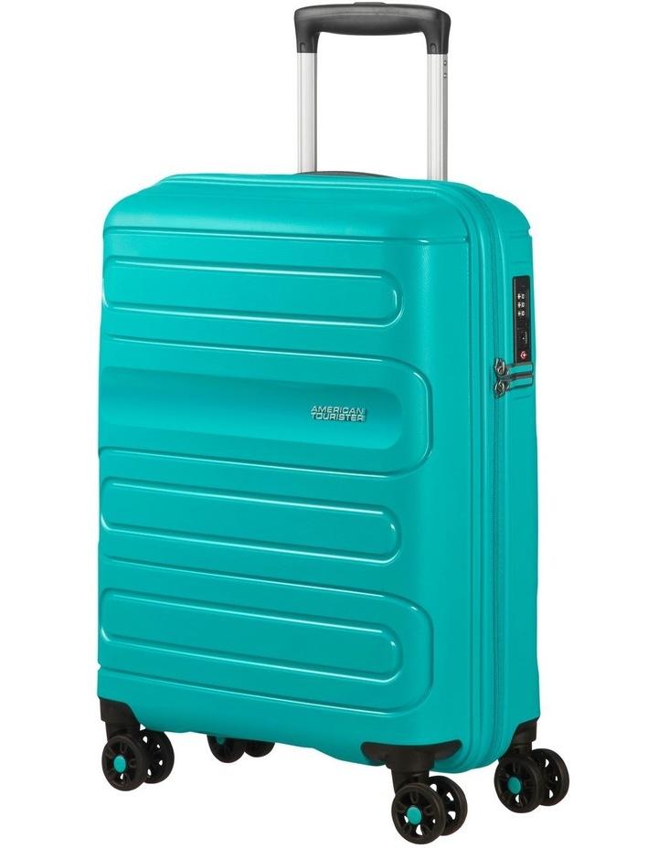 Sunside 55cm Small Hard Spin Case - Aero Turquoise image 1